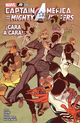 Captain America and the Mighty Avengers #6 - página 01